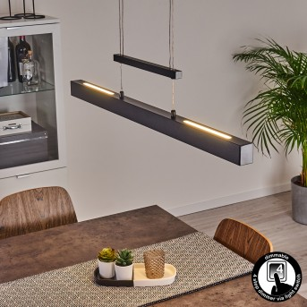 Ifo Pendant Light LED black, 1-light source