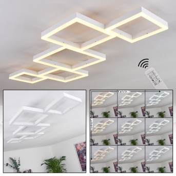 Pourao Ceiling Light LED white, 1-light source, Remote control