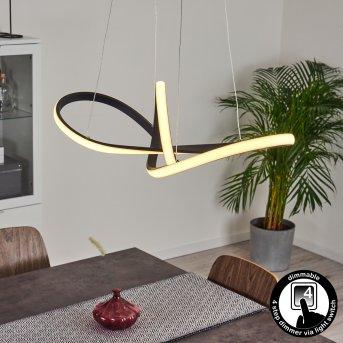 Ignal Pendant Light LED black, 1-light source