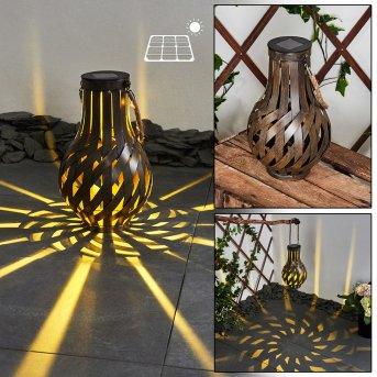 Soulé solar light LED brown, 1-light source