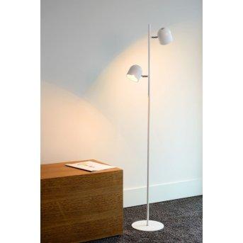 Lucide SKANSKA floor lamp LED white, 2-light sources