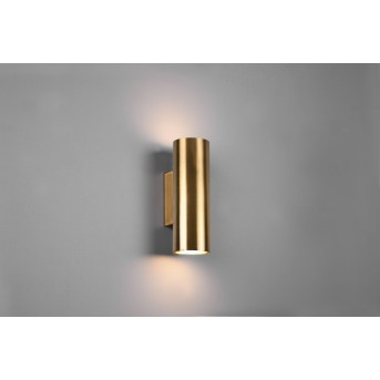Trio Marley Wall Light antique brass, 2-light sources