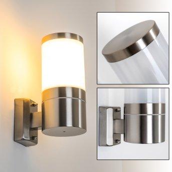 TOLSONA Outdoor Wall Light stainless steel, 1-light source