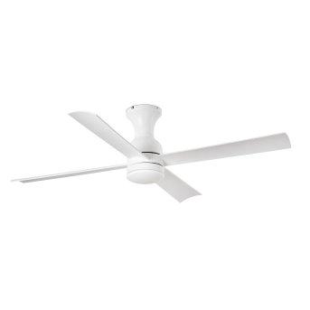 Faro Barcelona FRASER ceiling fan LED white, 1-light source, Remote control