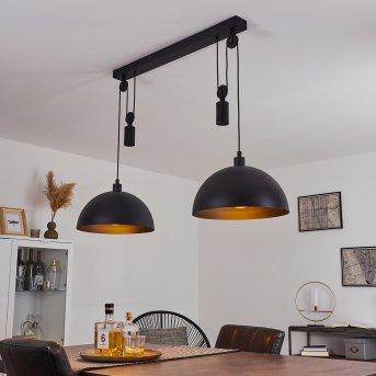 Manacales Pendant Light black, 2-light sources