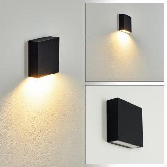 Spidern Outdoor Wall Light LED black, white, 1-light source