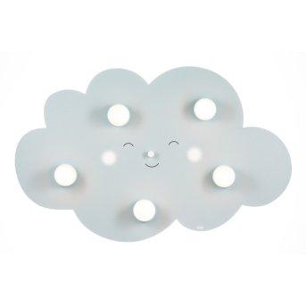 Waldi Wolkengesicht Ceiling Light grey, 5-light sources