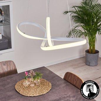 Pitasch Pendant Light LED white, 1-light source