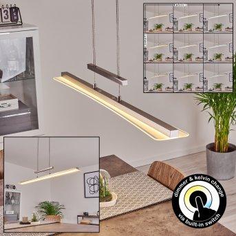 Barrud Pendant Light LED silver, 1-light source