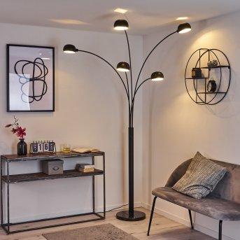 Nikkala Floor Lamp black, 5-light sources