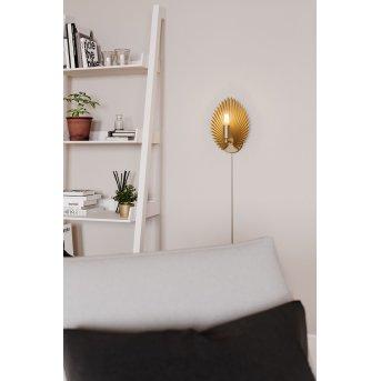 By Rydens Aruba Wall Light gold, 1-light source