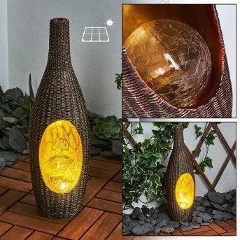 Otterstad solar light LED brown, gold, 1-light source