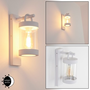 Fulham Outdoor Wall Light white, 1-light source