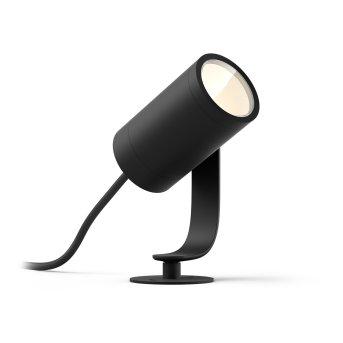 Philips HUE AMBIANCE WHITE & COLOR WACA LILY Spot, base set LED black, 1-light source, Colour changer