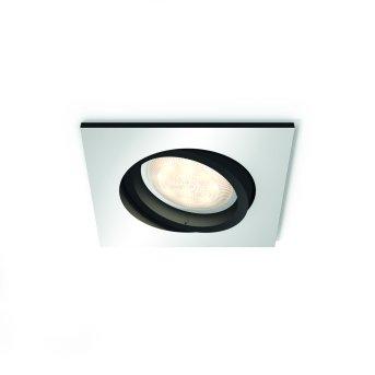 Philips HUE AMBIANCE WHITE MILLISKIN recessed spotlight silver, 1-light source