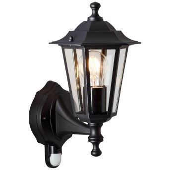 Brillliant Carleen Outdoor Wall Light black, 1-light source, Motion sensor