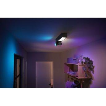 Philips HUE Centris Ceiling Light LED black, 3-light sources, Colour changer