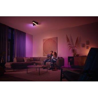 Philips HUE Centris Ceiling Light LED black, 1-light source, Colour changer