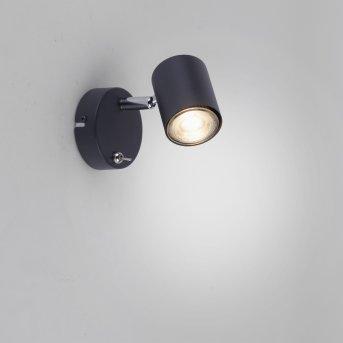 Leuchten Direkt TARIK Wall Light LED black, 1-light source