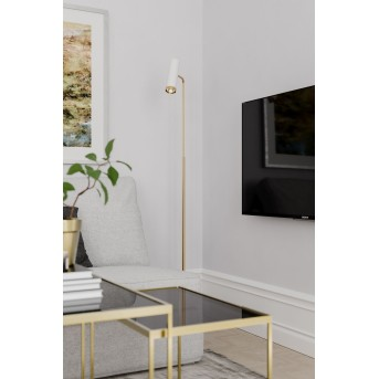 By Rydens Pulse Floor Lamp white, gold, 1-light source
