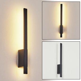Tydinge Outdoor Wall Light LED black, 1-light source