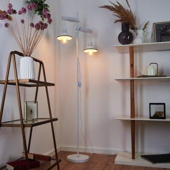 Lomas Floor Lamp white, 2-light sources