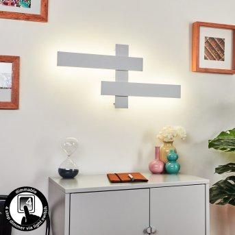 Cuchara Wall Light LED white, 2-light sources