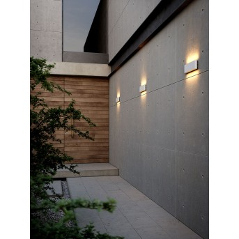 Nordlux KINVER Outdoor Wall Light LED white, 2-light sources