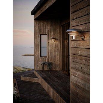 Nordlux KURNOS Outdoor Wall Light silver, 1-light source