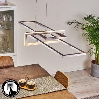 Omega Pendant Light LED silver, 1-light source