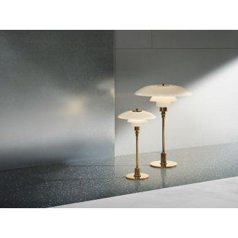 Louis Poulsen PH 2/1 Table lamp brass, 1-light source