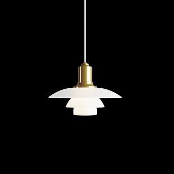 Louis Poulsen PH 2/1 Pendant Light brass, 1-light source