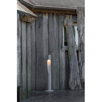 Louis Poulsen Flindt bollard light LED aluminium, 1-light source