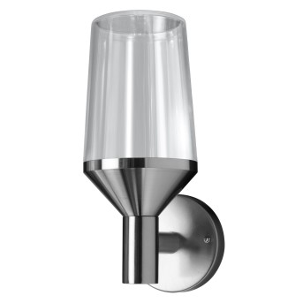 LEDVANCE ENDURA Outdoor Wall Light stainless steel, 1-light source