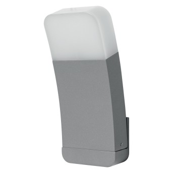 LEDVANCE CURVE Outdoor Wall Light silver, 1-light source, Colour changer