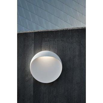 Louis Poulsen Flindt Outdoor Wall Light LED white, 1-light source