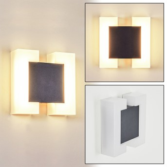 Zoppola Outdoor Wall Light LED anthracite, white, 2-light sources