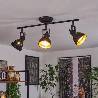 Tita Ceiling Light black, 3-light sources