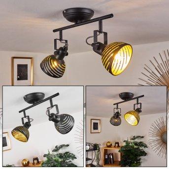 Osina Ceiling Light black, 2-light sources