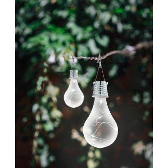 Eglo BULB solar light LED silver, 5-light sources