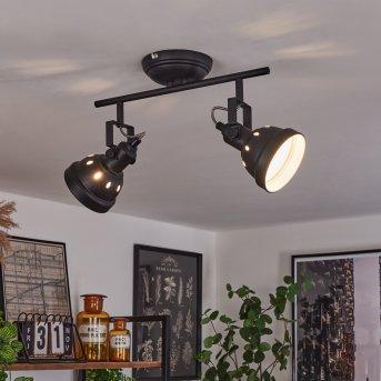 Tita Ceiling Light black, 2-light sources
