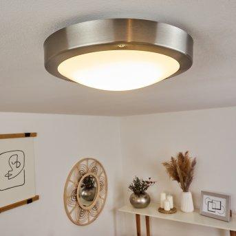 Alleen outdoor ceiling light LED matt nickel, 3-light sources