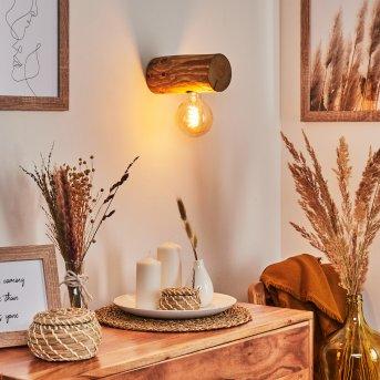 Canedo Wall Light brown, 1-light source