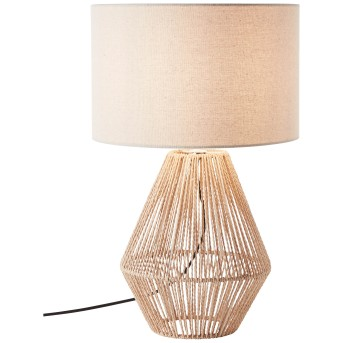 Brilliant Laraine Table lamp black, brown, 1-light source