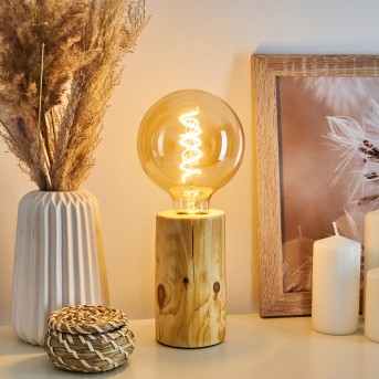 Canedo Table lamp brown, 1-light source