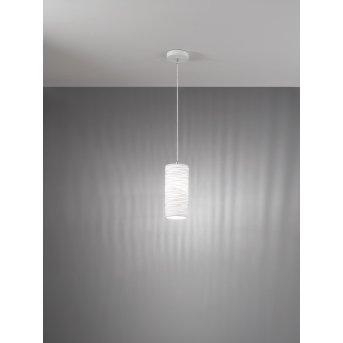Fabas Luce Marbella Pendant Light white, 1-light source