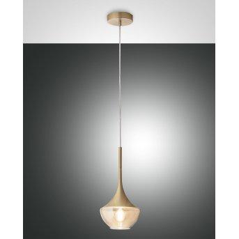 Fabas Luce Apollo Pendant Light brass, 1-light source