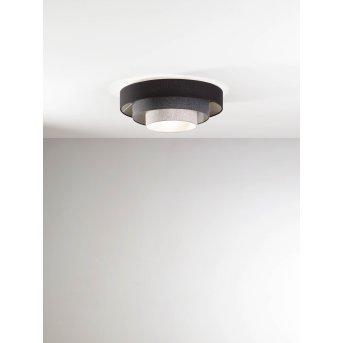 Fabas Luce Brava Ceiling Light black, 1-light source