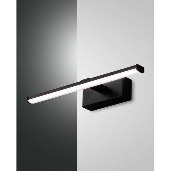 Fabas Luce Nala Wall Light LED black, 1-light source