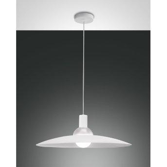 Fabas Luce Camilla Pendant Light white, 1-light source
